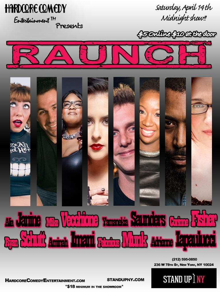 Alia Janine - Raunch Comedy Show